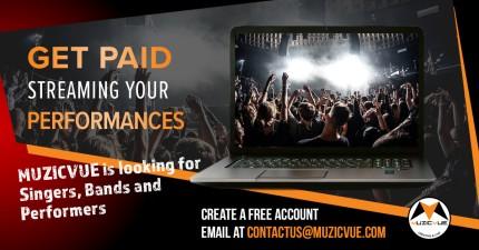 Muzicvue Looking for Bands, Singers & Performers